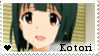 F2U - Kotori - The Idolmaster - Stamp by vvhiskers