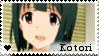 F2U - Kotori - The Idolmaster - Stamp by vvhiskers