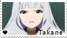 F2U - Takane - The Idolmaster - Stamp by vvhiskers