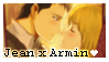 F2U - Jean x Armin Stamp by vvhiskers