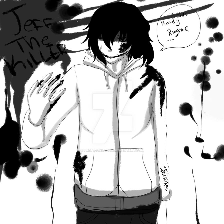 Jeff The Killer Manga Styled By Prettyskitty16 On Deviantart