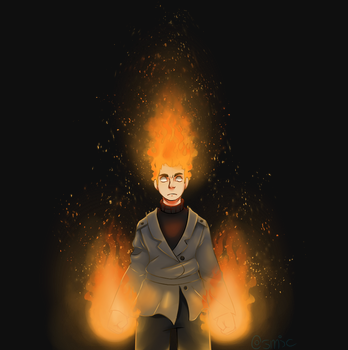 Flamin' Redhead by CosmicFrenchFries