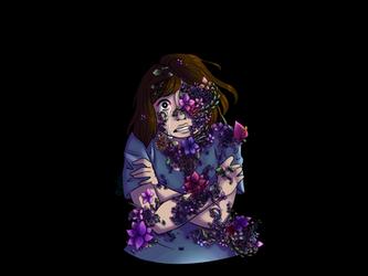 Flower Girl {Kinda Redraw} by CosmicFrenchFries