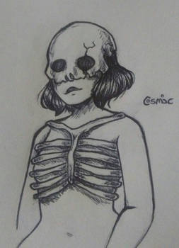 Bones {Day 5 of Inktober}