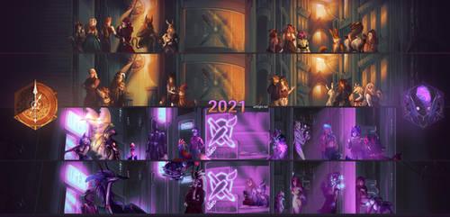 Art Fight 2021: Steampunk vs Cyberpunk by artyfight