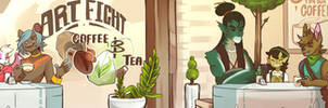 Art Fight 2018 Banner 2 by artyfight