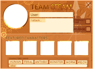 Art Fight 2021: Steampunk Template