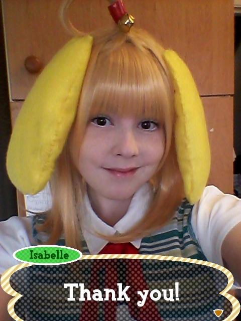 Animal Crossing New Leaf: Isabelle Is Thankful! by Meerkatgirl4321