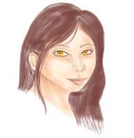 Amber doodle by Sakaiti