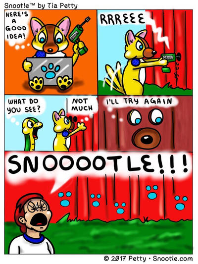 Snootle - Now There's A Good Idea! by SnootleComics