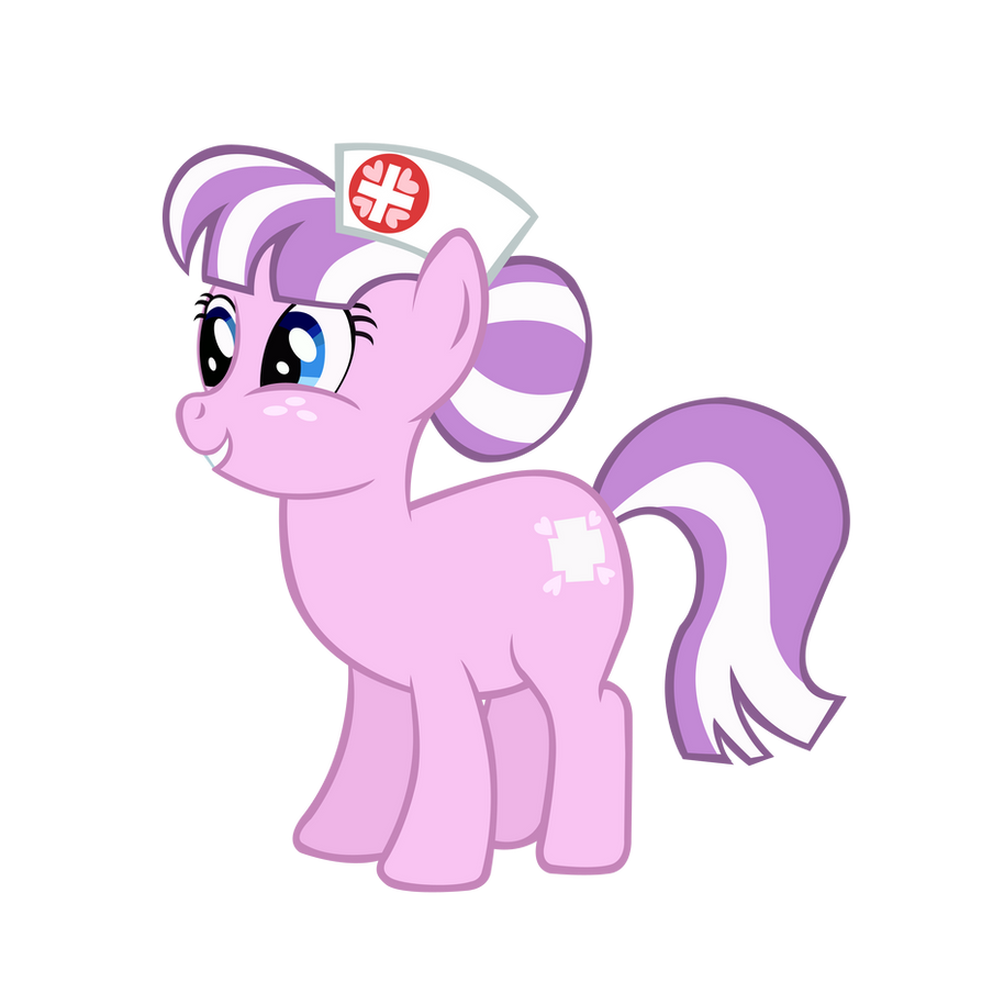Helping Heart Nurse Pony by BonesWolbach