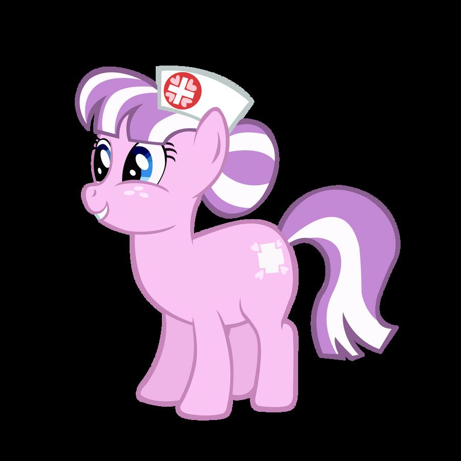 Helping Heart Nurse Pony by BonesWolbach