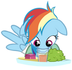 Rainbow Dash Vs. Cup