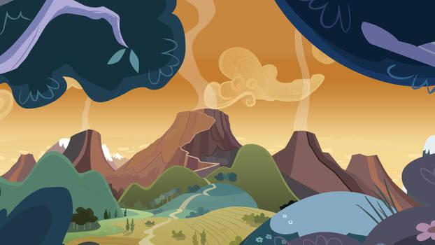 Dragon Volcano by BonesWolbach