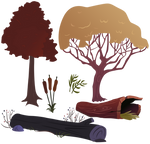 Trees / Greens 1
