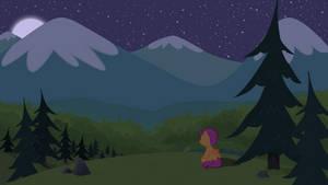 Scootaloo's Alpine Night