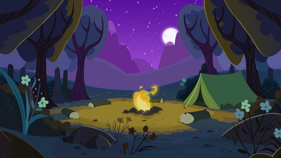 Summer Campfire by BonesWolbach