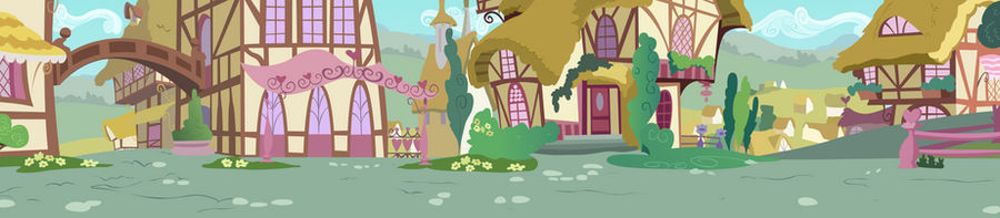 Ponyville Road Side View