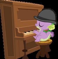 Piano Spike by BonesWolbach