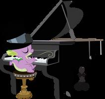Classy Piano Spike by BonesWolbach
