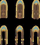 Canterlot Door Opening Refrences