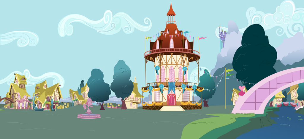 Ponyville Town Hall (Long) by BonesWolbach