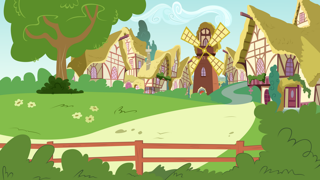 Epic Rage Time (Ponyville Town Entrance) by BonesWolbach