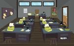 Newspaper Room
