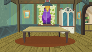 Apple Family Room + Table