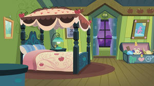 Apple Bloom's Bedroom Towards Window by BonesWolbach