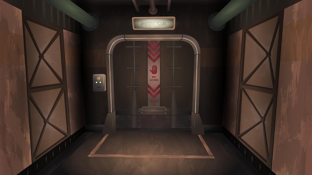 Vault-Tec Door (Vector) by BonesWolbach