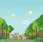 Outside Ponyville