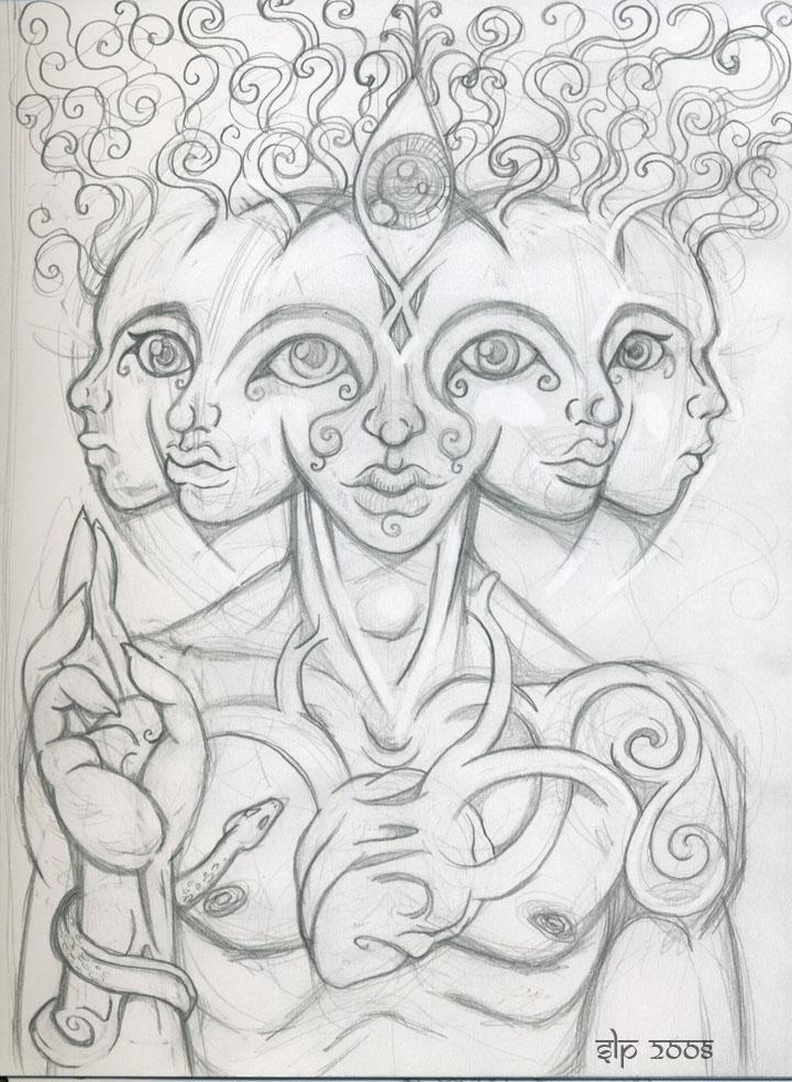 Phone Doodle by pangaeastarseed