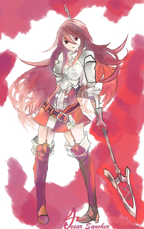Cordelia from Fire Emblem Awakening