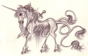 Zombie unicorns are fun by mykanazario