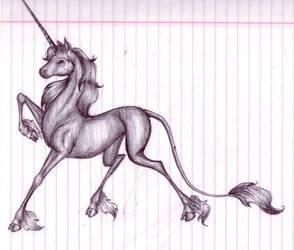 Unicorn by mykanazario
