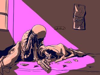 One morning - doodle by aoimomushi