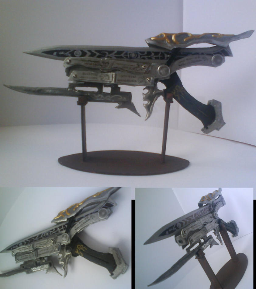 Gunblade (Gunmode) mini-model by Zwielichtodin