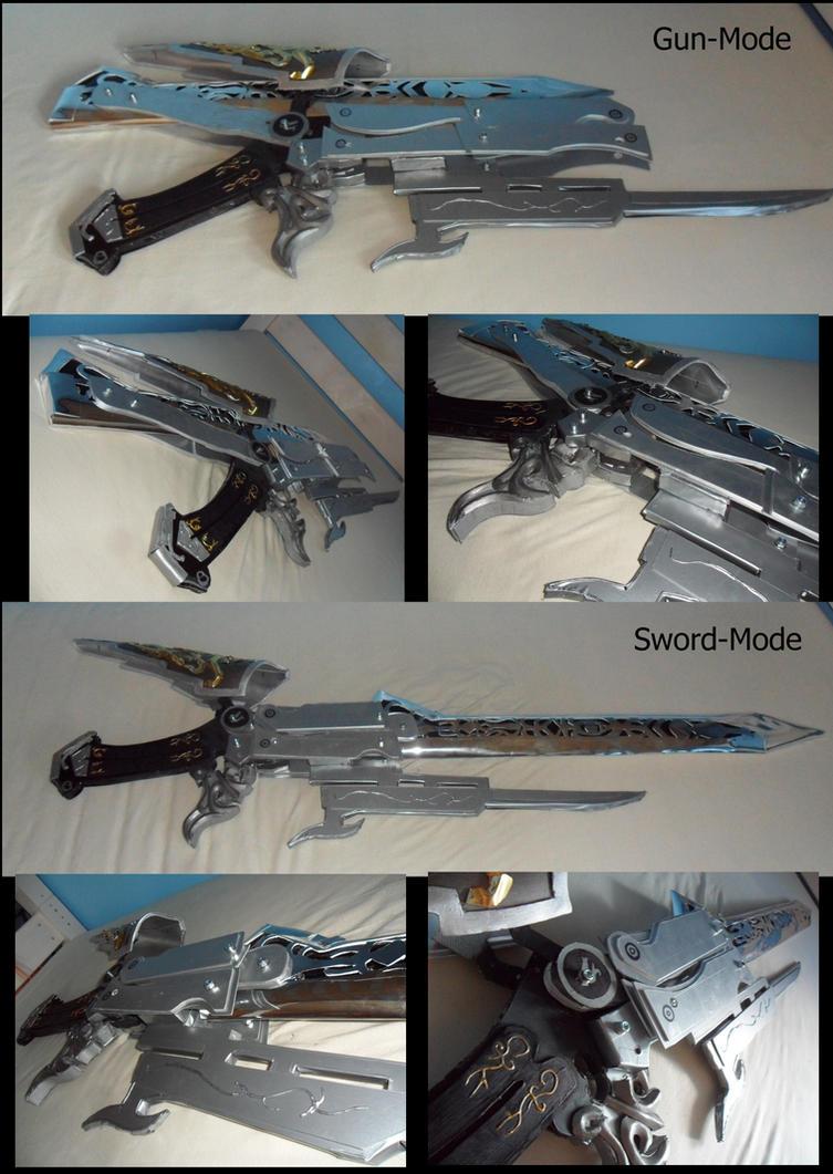 Transforming Gunblade FF 13-2 by Zwielichtodin