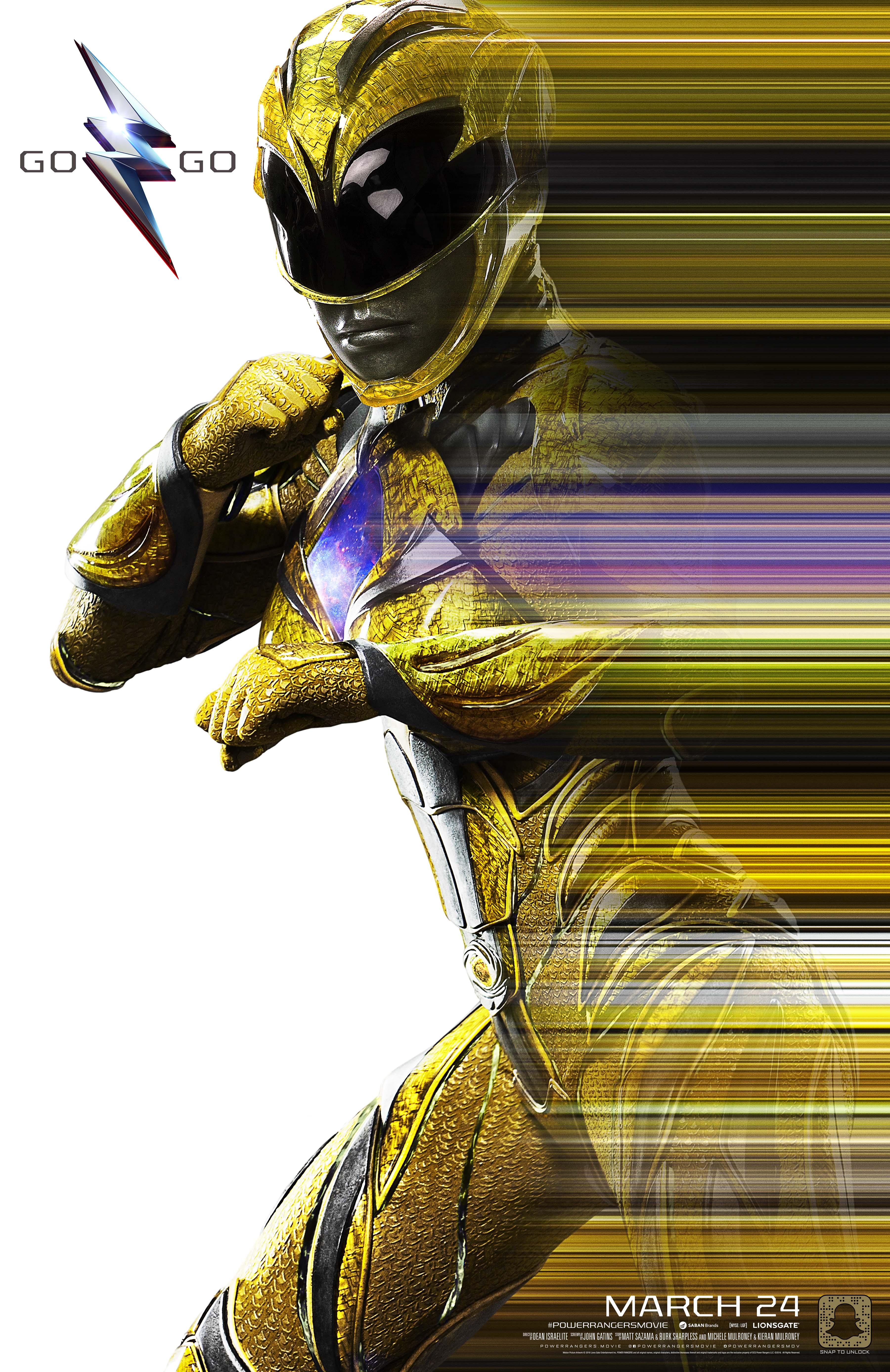 Mighty Morphin Yellow Ranger by MrWonderWorks