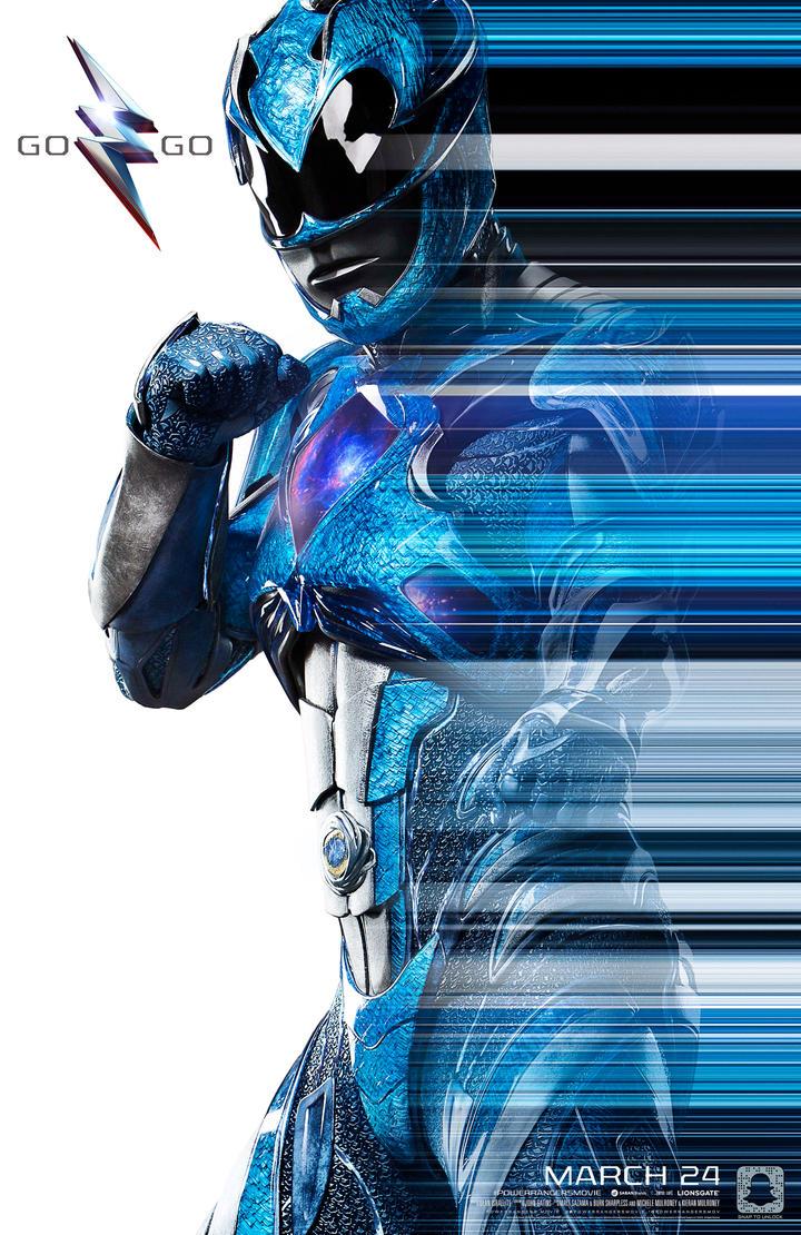 Mighty Morphin Blue Ranger by MrWonderWorks