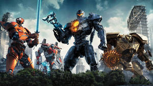 Gipsy Avenger and The Jaegers of Pacific Rim