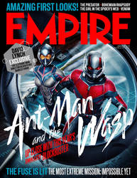 Ant-Man And The Wasp's 2nd Empire Magazine Cover by MrWonderWorks