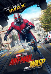 Ant-Man And The Wasp's IMAX Poster by MrWonderWorks