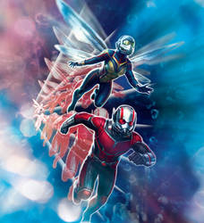 Ant-Man And The Wasp Strikes Back by MrWonderWorks