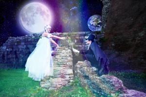 When Moon met the Earth...