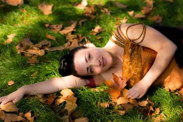 Bed of Leaves by ArielKuran