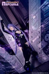 Megami PurpleHeart Neptunia by dizzymonogatari