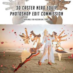 3D Caster Nero Equip