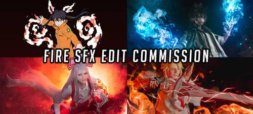 FIRE SFX EDIT COMMISSION